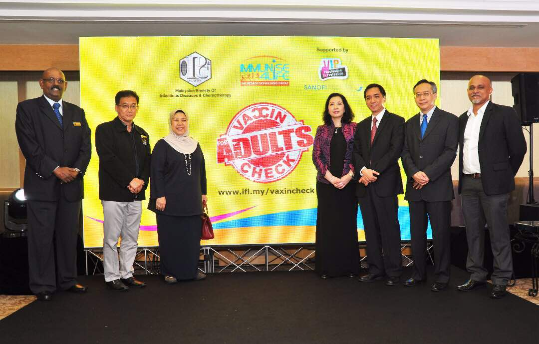Launch of Adult Vaccination Awareness in Malaysia