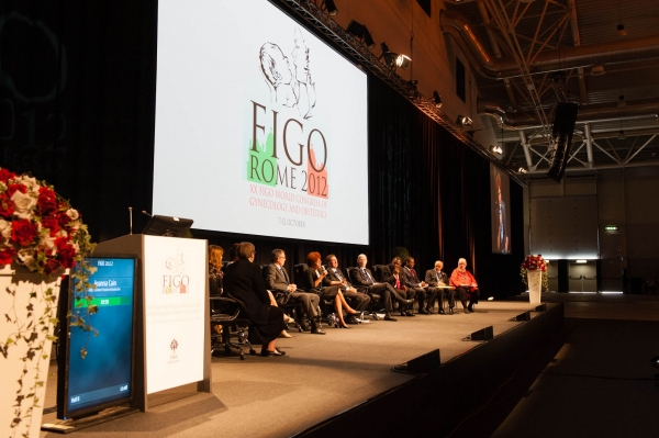 President Session at the opening of the FIGO congress